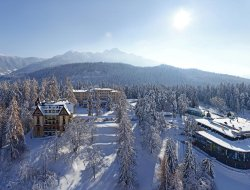 Top-10 hotels in the center of Flims Waldhaus