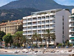 Menton hotels with sea view