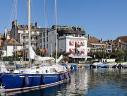 Morges hotels with restaurants