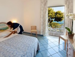 Top-10 hotels in the center of Ischia Island