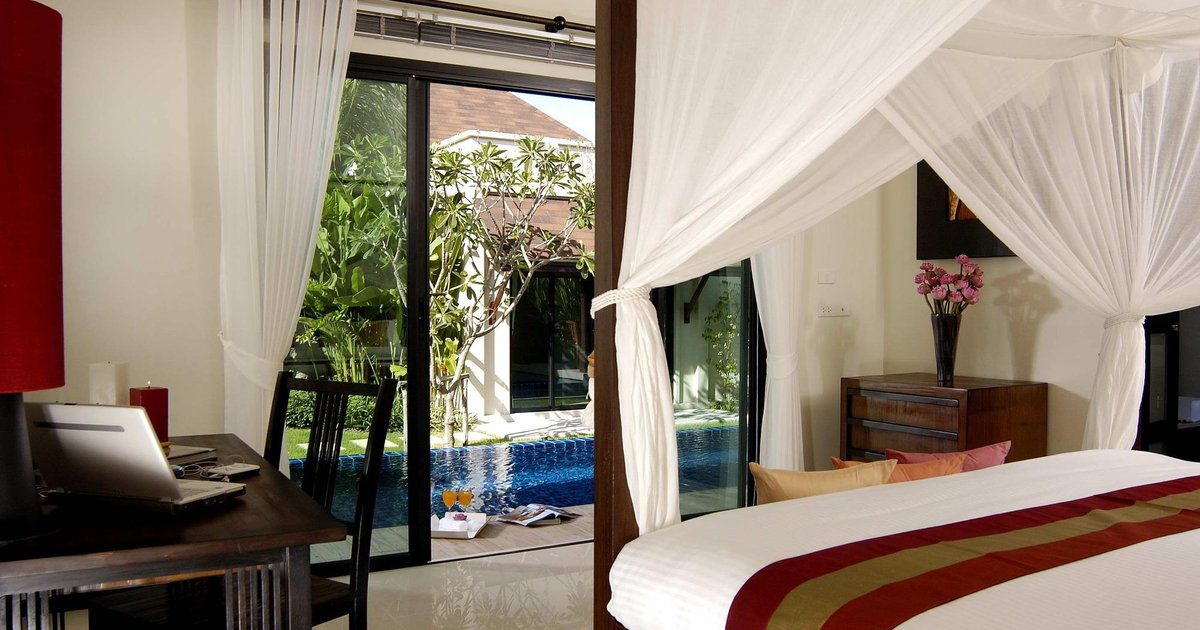 Two Villas Holiday Oriental Style Nai Harn Beach