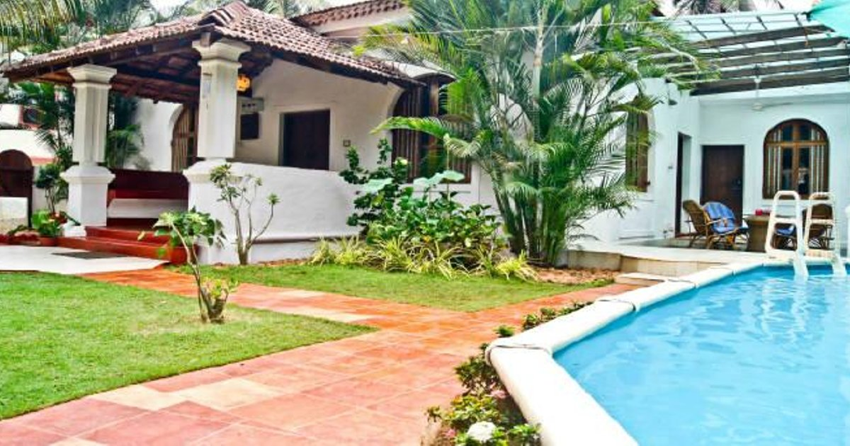 Uber Luxury 2bhk Villa in Candolim