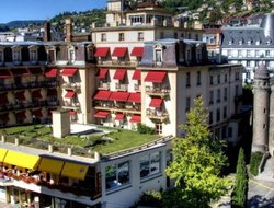Top-10 hotels in the center of Montreux