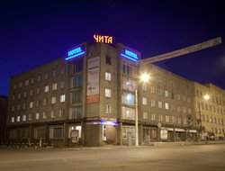 Top-4 hotels in the center of Chita