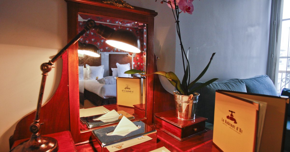 Hotel Hotel Le Robinet D Or Paris Paris Booking And Prices Hotellook