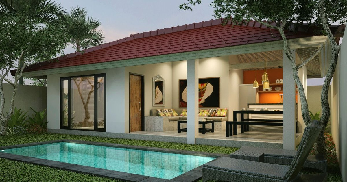 Two Bed Room Gili Khumba Villas