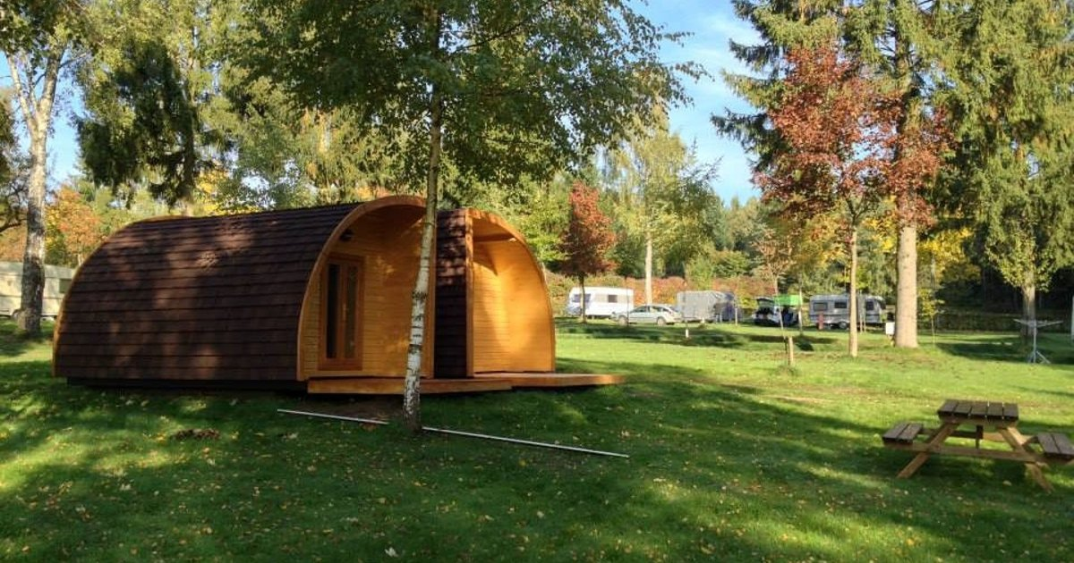 4pers hut at camping Luxembourg