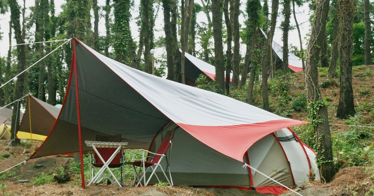 healing camp - camping ground