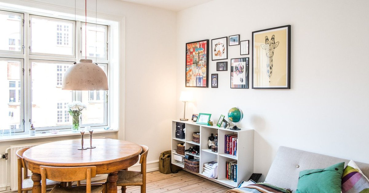 Homely flat in hip area