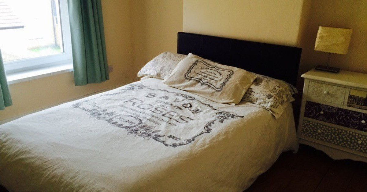 Spacious room, comfy double bed.