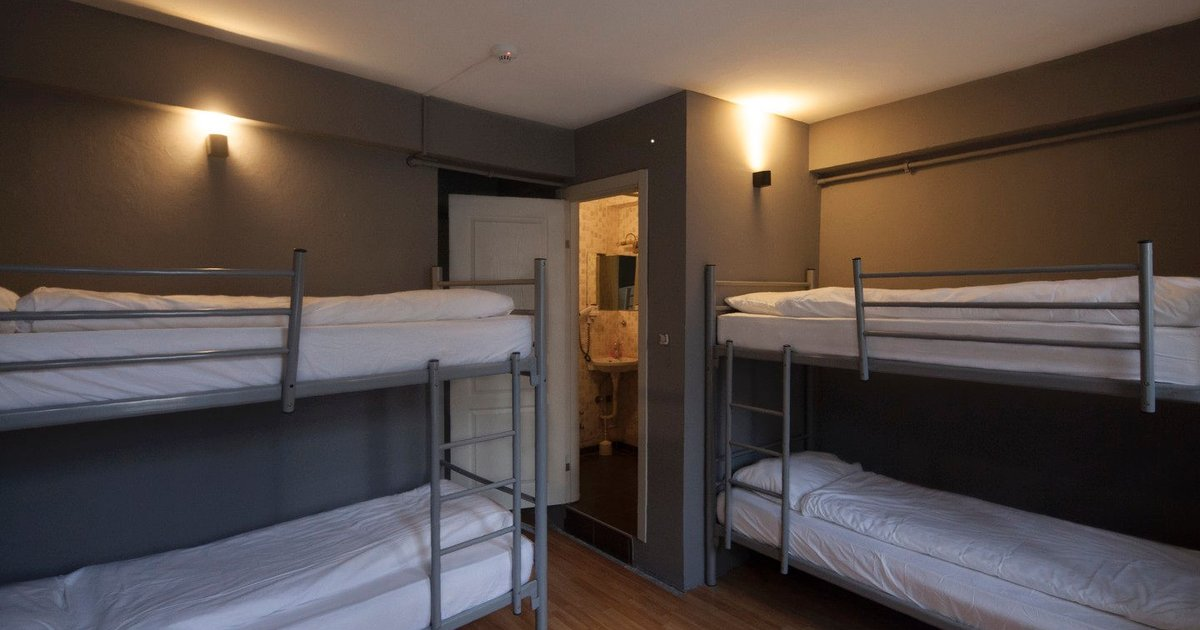 Deluxe 4 Bed Mixed Dorm B1/F1