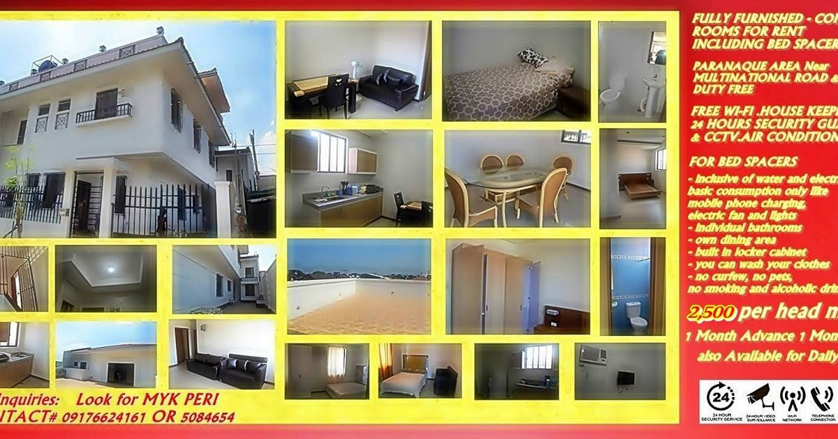 DAILY RENT FURNISH NEAR NAIA 1