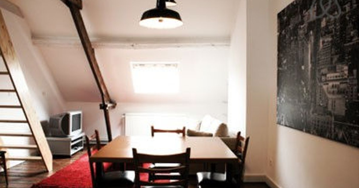 Furnished loft in Brussels City