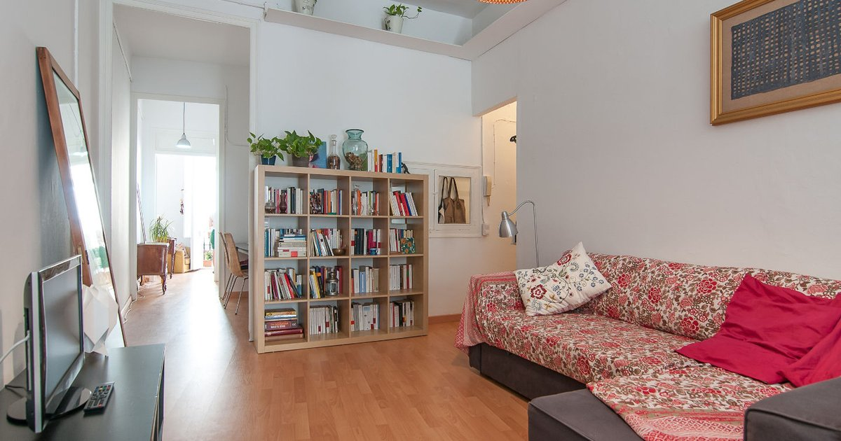 Great flat in the heart of Gracia
