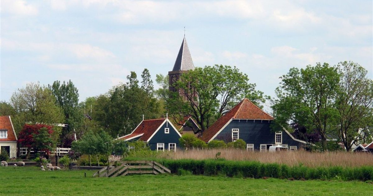 Amsterdam Countryside. Family house