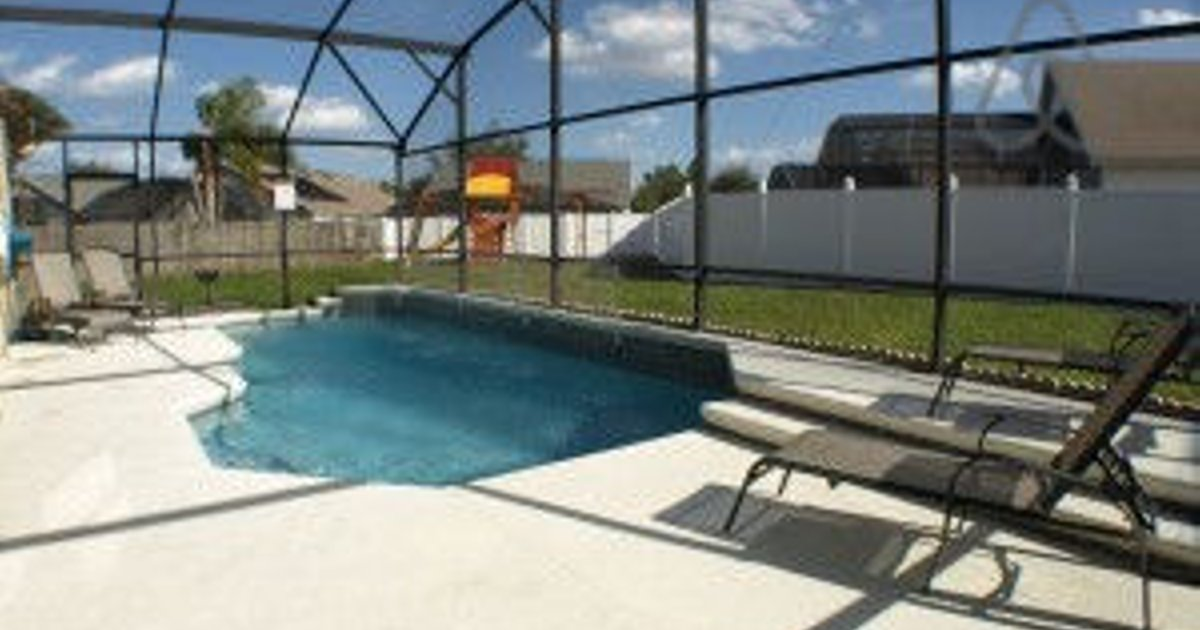 Kissimmee Vacation Pool Home in Ind