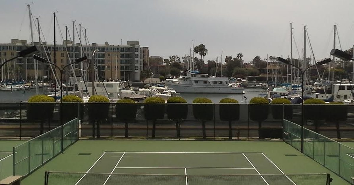 Marina Del Rey Water View