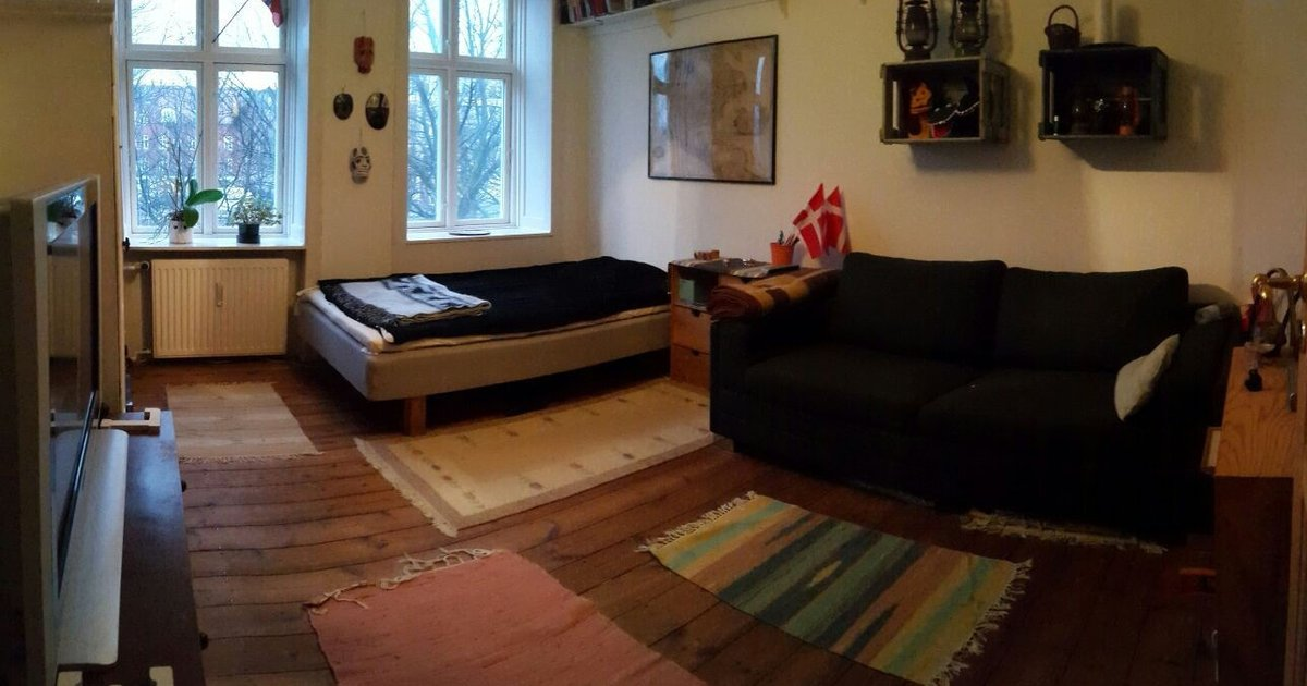 Bedroom for 2 in lovely Copenhagen