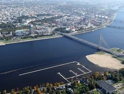 Latvia hotels with river view