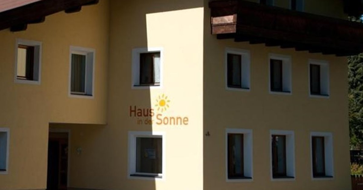 Pension Haus in der Sonne
