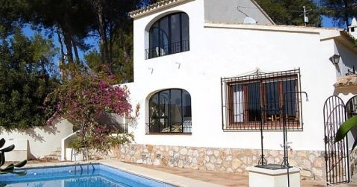 Rental Villa Casa Lisa - Moraira, 3 Bedrooms, 6 Persons