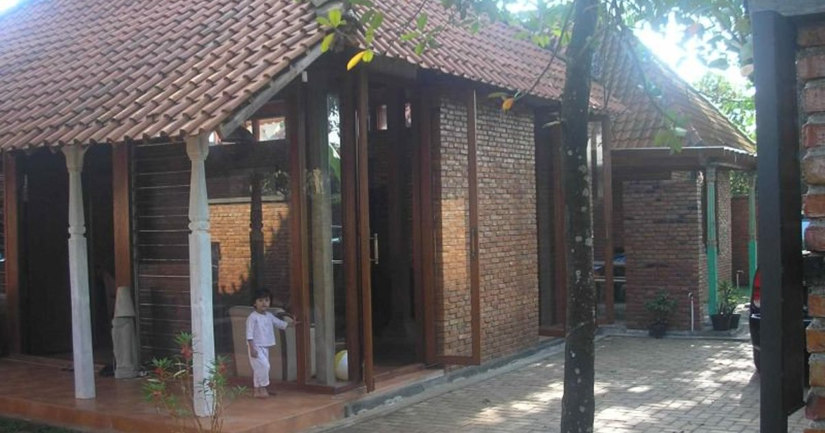 Traditional Javanese home