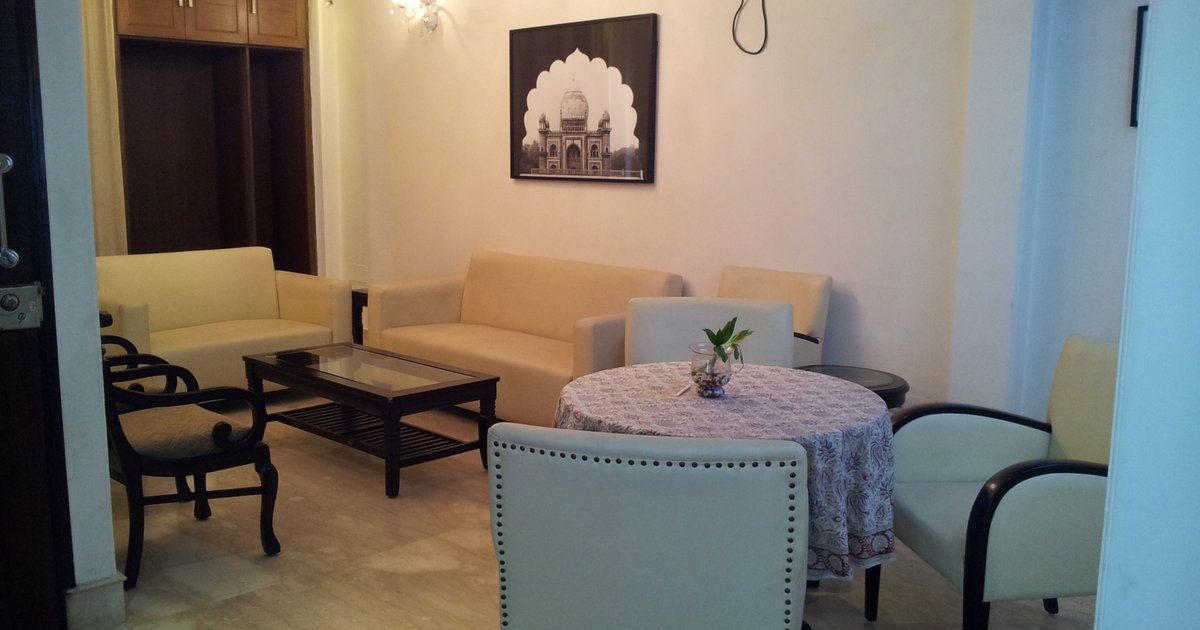 3 BHK Serviced Apartment in Delhi, Greater Kailash