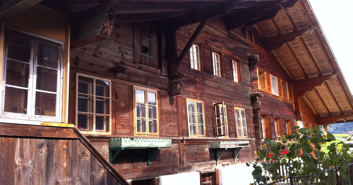 400-Year-Old Vintage Swiss Chalet