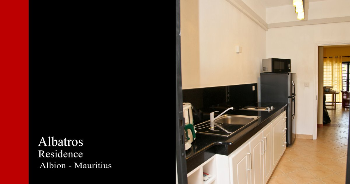 Albatros Residence - 2 bedrooms Apartments - lunch & dinner