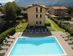 Domaso hotels with swimming pool