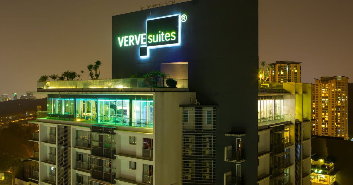 VERVE Suites - Unique facilities!