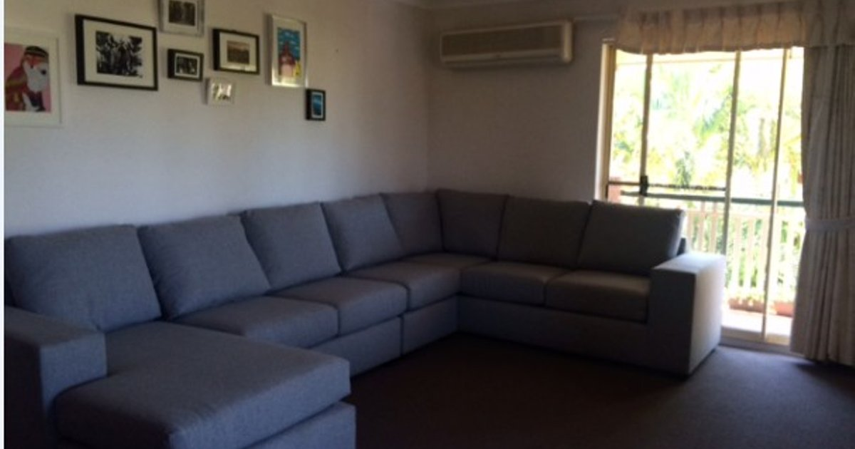 Bedroom with ensuite in Clayfield