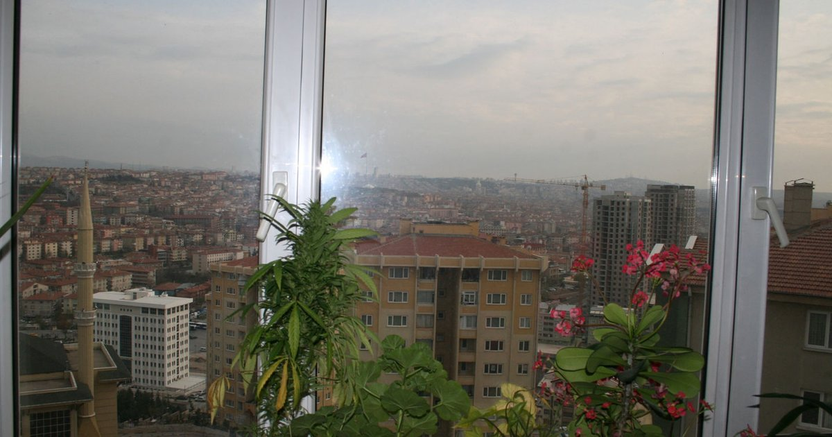 Perfect Ankara view from my house