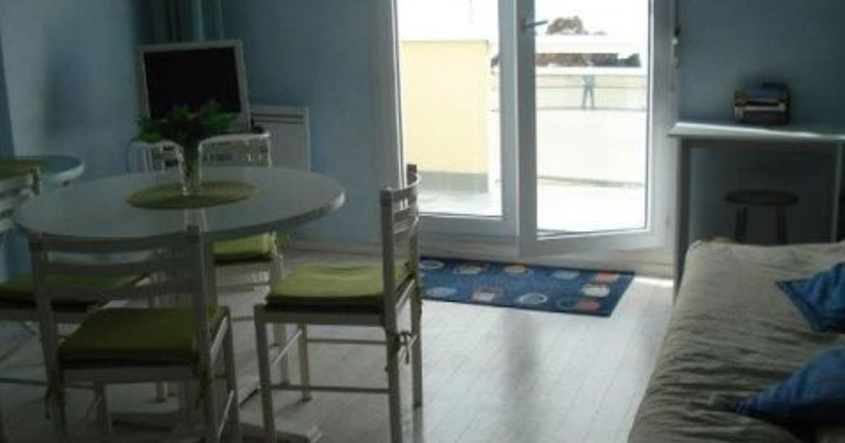 Rental Apartment - 35 M2, 2/1 - Saint-Marc Sur Mer, 1 Bedroom, 4 Persons