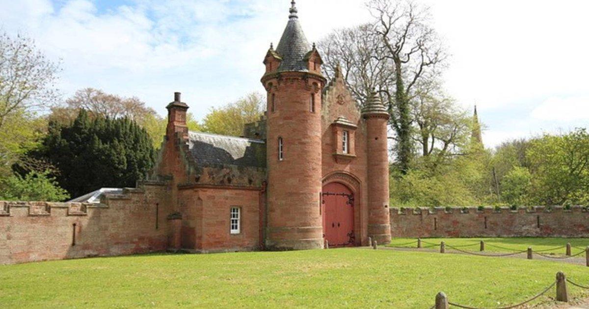 Image result for Ayton Castle gatehouse