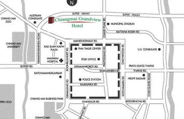 фото Chiangmai Grandview Hotel & Convention Center 605180191