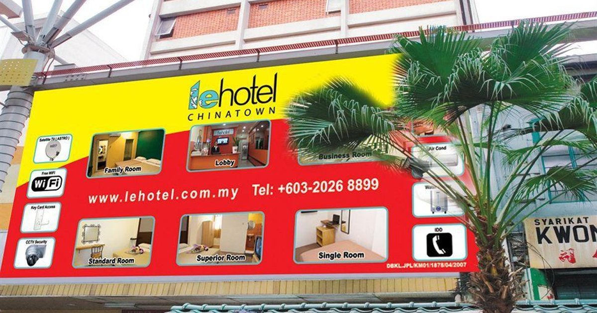 LE HOTEL CHINATOWN