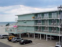 Wildwood Crest hotels with sea view