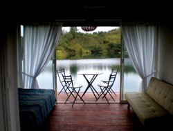 Colombia hotels with lake view