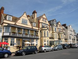 Sidmouth hotels with sea view