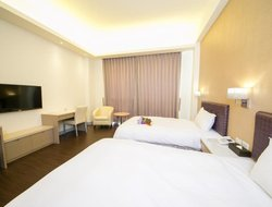 Top-8 hotels in the center of Chiayi City
