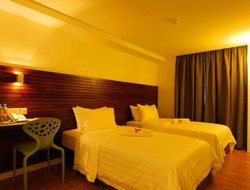 Top-4 hotels in the center of Sungai Patani