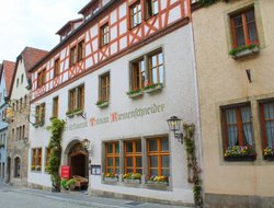 Top-10 hotels in the center of Rothenburg ob der Tauber