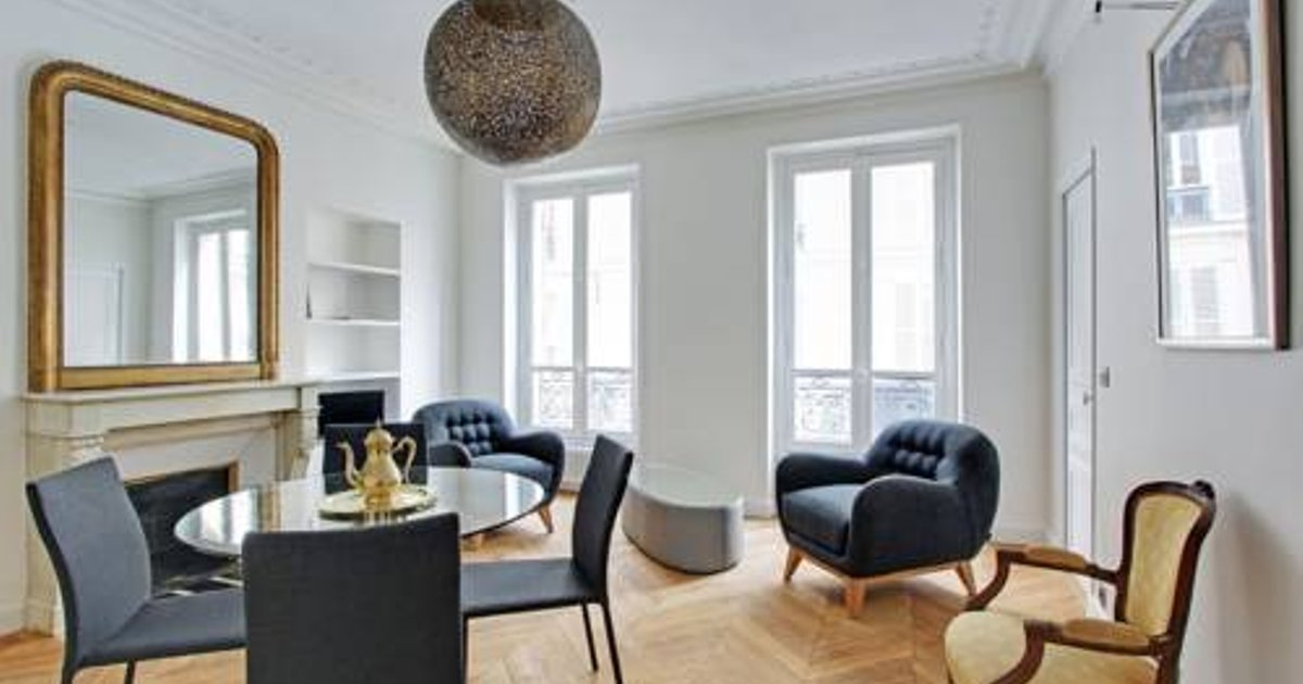 Large apartment in Marais - 4 adults