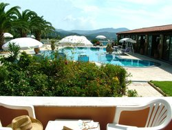 Aghios Stefanos (Avliotes) hotels with restaurants