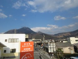 Top-10 hotels in the center of Yufuin