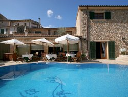 Top-7 hotels in the center of Pollenca
