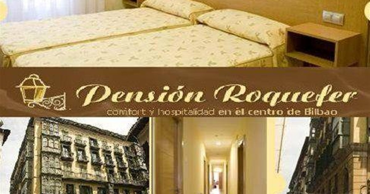 Roquefer Bilbao Central Rooms