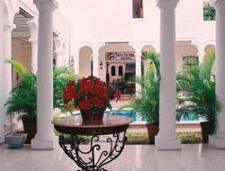 Top-10 hotels in the center of Merida