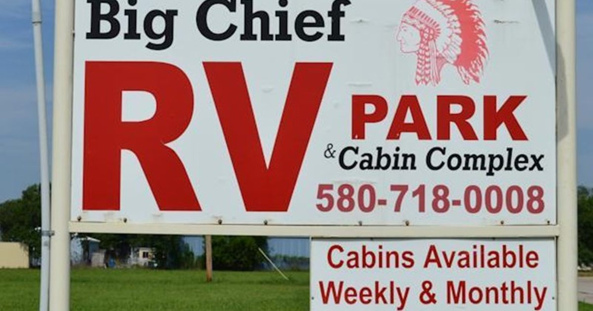 Big Chief Extended Stay Cabins Campground